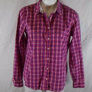 Izod Plaid Button Up Shirt